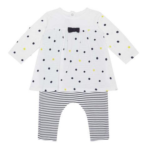 Polka Dot Two Piece Set Baby, ${color}