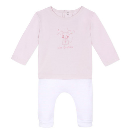 Two-Piece Bisous Mouse Set Baby, ${color}