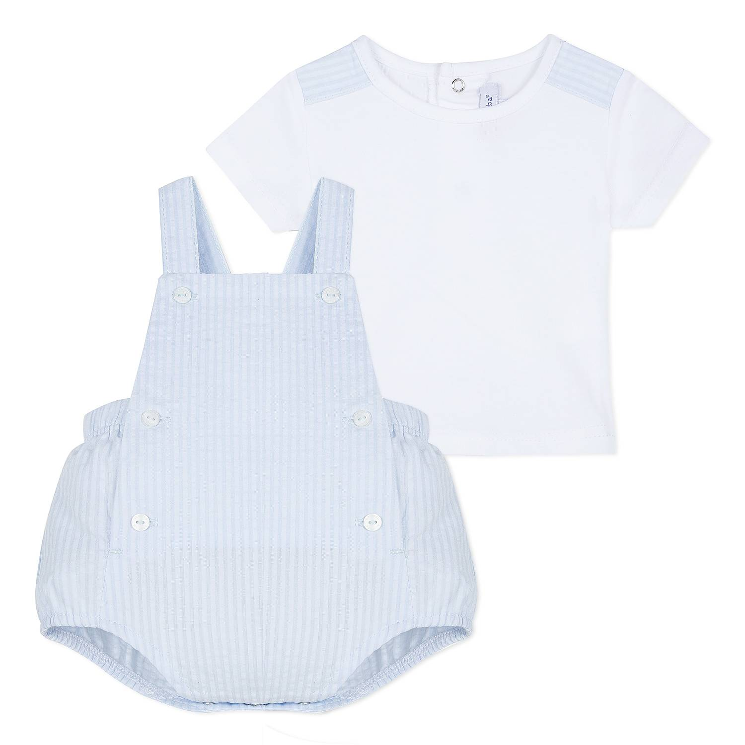 49e6c0036 Dungaree & T-Shirt Set Baby
