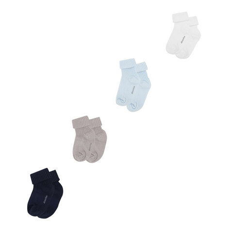 Four-Pack Socks Baby, ${color}