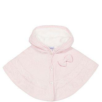 Knit Fleece Poncho