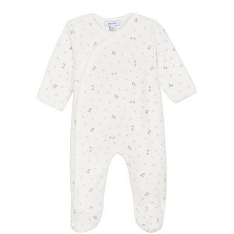 Footprint Romper