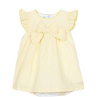 Gingham Bow Dress