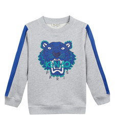 Side Stripe Tiger Sweatshirt