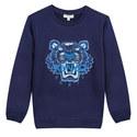 Tiger Head Sweatshirt, ${color}