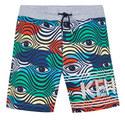 Eye Print Shorts, ${color}