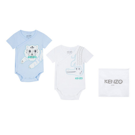 Baby Bodysuit Set of Two, ${color}