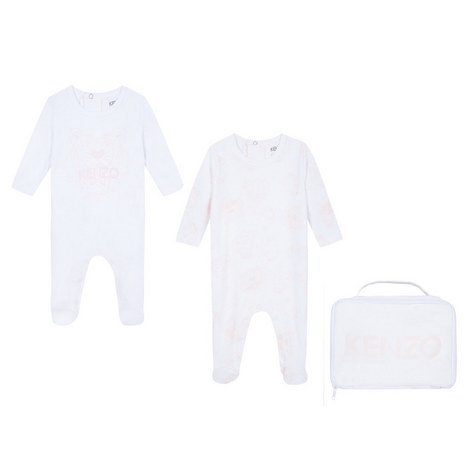 Two-Piece Tiger Romper Set with Bag, ${color}