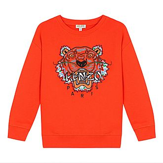 Tiger Logo Sweater