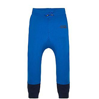 Contrast Cuff Track Pants
