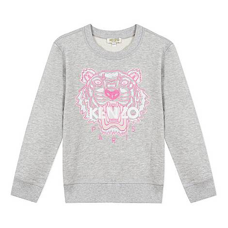 Mature Tiger Sweatshirt, ${color}