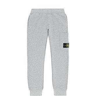 Boys Logo Patch Sweatpants