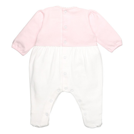 Penelope Bow Faux Cardigan Romper Baby, ${color}