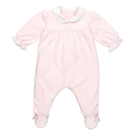 Paula Collared Romper Baby, ${color}