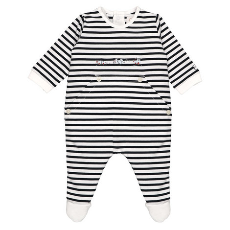 Pierce Stripe Romper Baby, ${color}