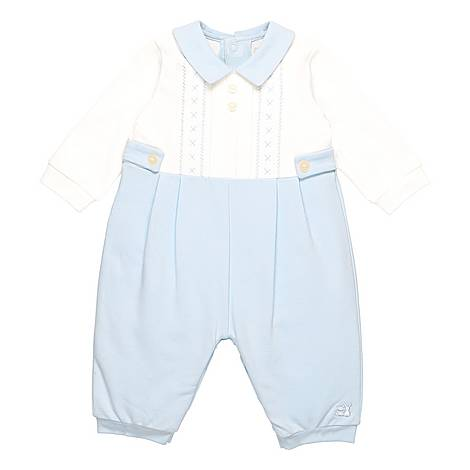 Pacey Button Romper Baby, ${color}