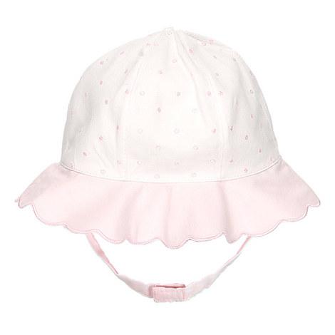 Peyton Scallop Edge Hat Baby, ${color}