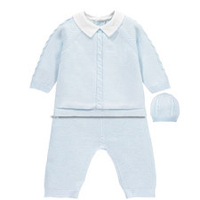 Noah Knitted Three-Piece Set Baby