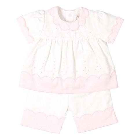 Paloma Scallop T-Shirt Set Baby, ${color}