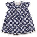 Pansy Flower Print Dress, ${color}