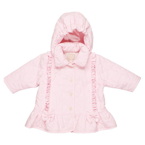 Parisa Quilted Ruffle Jacket Baby, ${color}