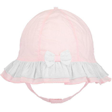 Frill Brim Sun Hat Baby, ${color}