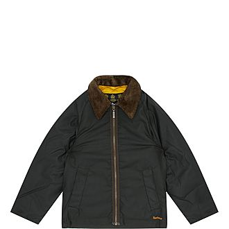 Boys Munro Waxed Jacket