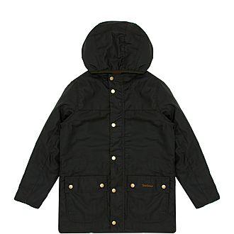 Boys Durham Waxed Jacket