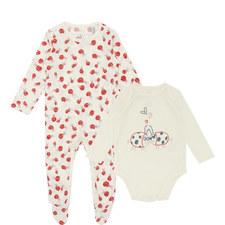 Binky & Twiddle Rompersuit Set Baby