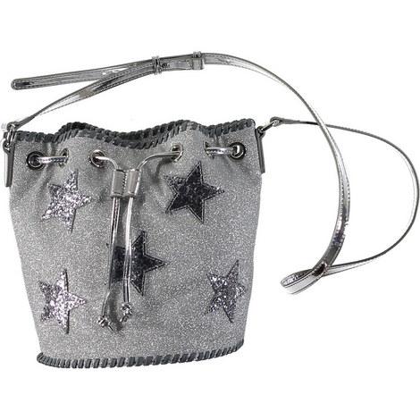 Star Drawstring Bucket Bag, ${color}