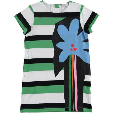 Stripe Flower Dress, ${color}