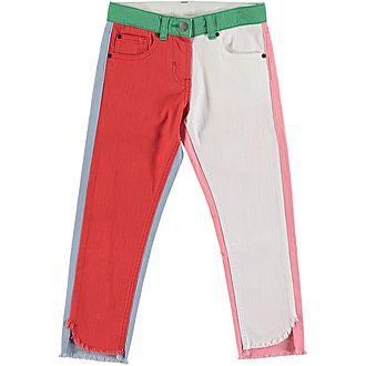 Colour-Block Jeans