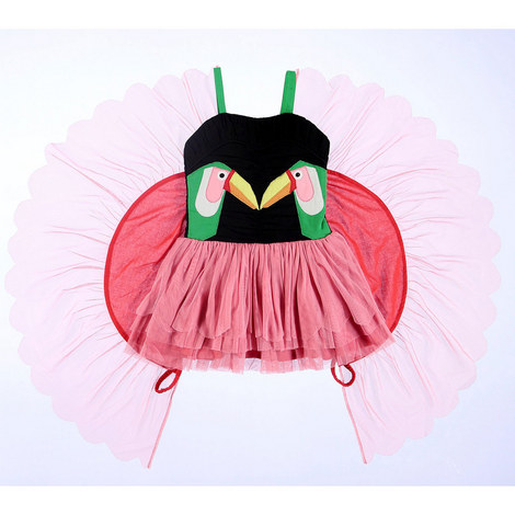 Toucan Tulle Dress, ${color}