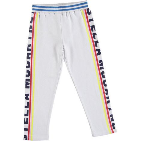 Logo Detail Fleece Trousers, ${color}