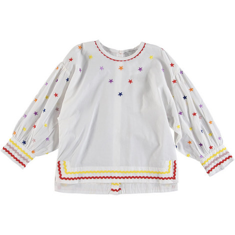 Embroidered Star Top, ${color}