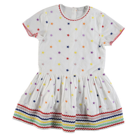 Embroidery Star Dress, ${color}