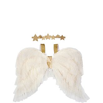 Tulle Dress-Up Angel Wings & Headband