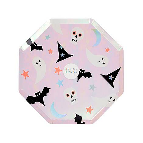 Halloween Icon Side Plates, ${color}