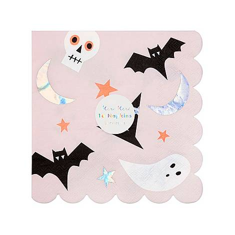 Halloween Icon Napkins, ${color}