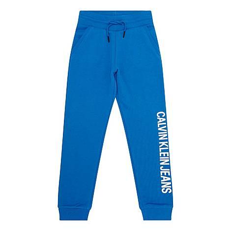 Shiny Logo Sweatpants, ${color}