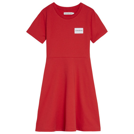 T-Shirt Skater Dress, ${color}