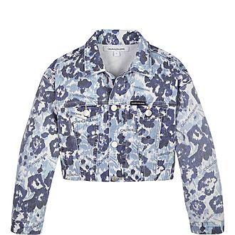Flower Cropped Jacket