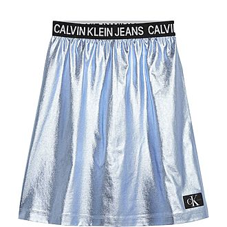 Metallic Foil Skirt