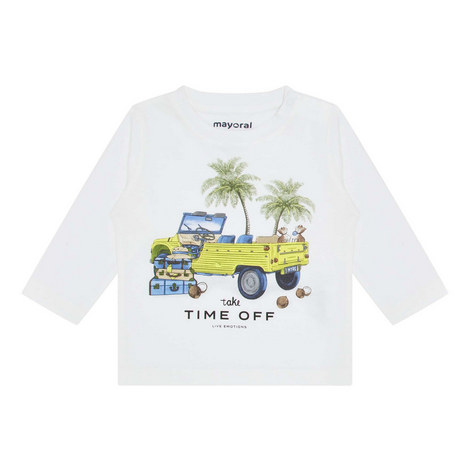 Long Sleeve Truck T-Shirt, ${color}