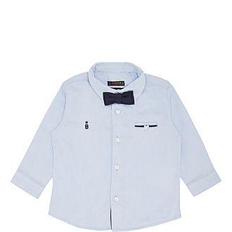 Two Piece Long Sleeve Shirt & Bowtie.
