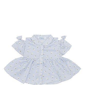 Stripe Daisy Dress