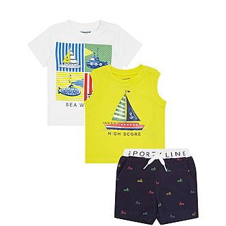 Three-Piece Sea World Set