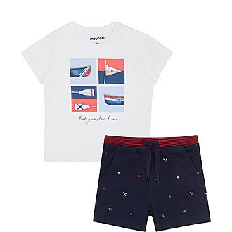 Two-Piece Boat Set