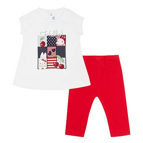 Two-Piece Ladybird T-Shirt & Bottoms, ${color}