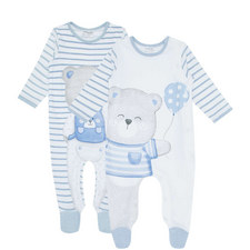 Two-Piece Bear Romper Set